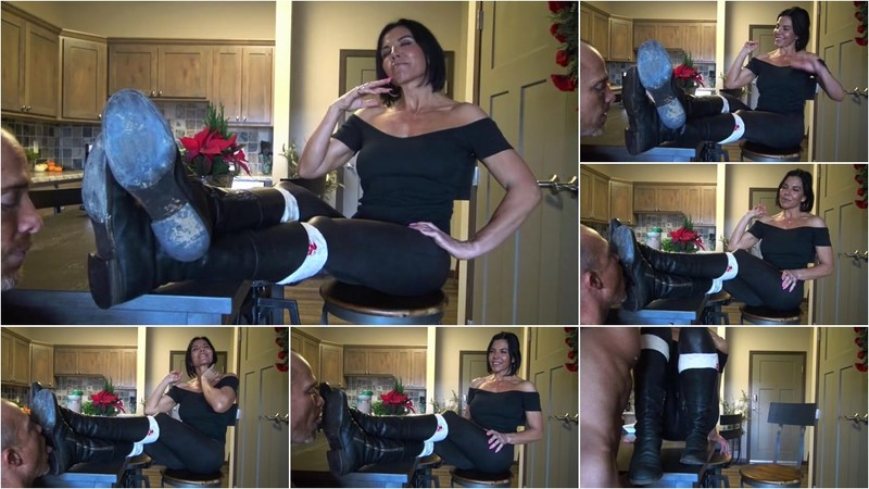 Lick The Soles Of My Boots Clean, Loser!! [FullHD 1080P]