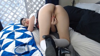 SexySaffron - Masturbation for Step-Daddy, 1080p