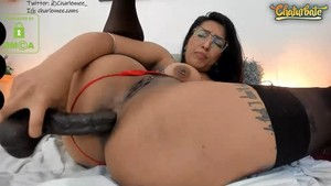CamWhores charlennee big anal toys, atm 4.4.2020 charlennee