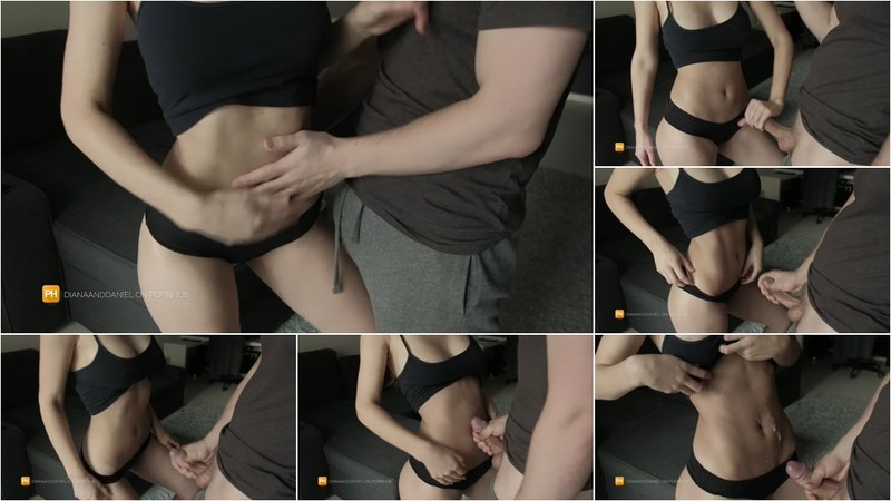 Diana Daniels - Cumming on the Flat Belly of a Young College Girl [FullHD 1080P]