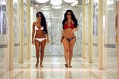 Kim and Kourtney Kardashian Bikini Shoot from Monaco, Gigantic Ass Included!