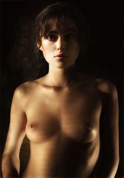 Keira Knightley young and topless photo shoot UHQ