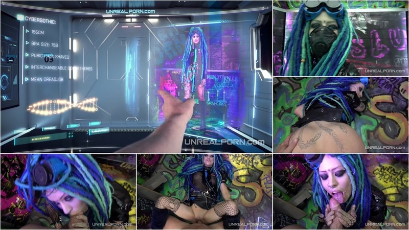 Cybergothic - Unreal Porn [FullHD 1080P]