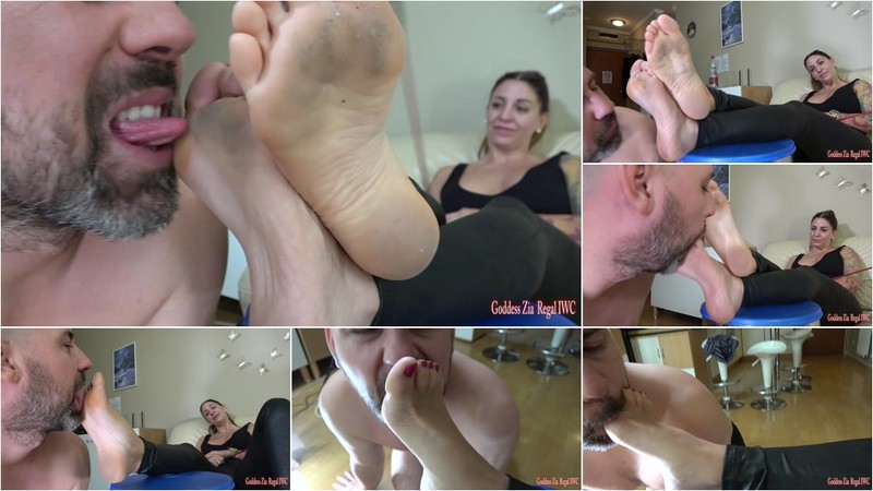 The Ex-Boss Slave - Lick My Dirty Feet! [FullHD 1080P]
