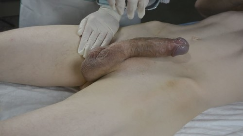 I Waxed His Big Cock And Jerked Him Off With Pleasure [HD]