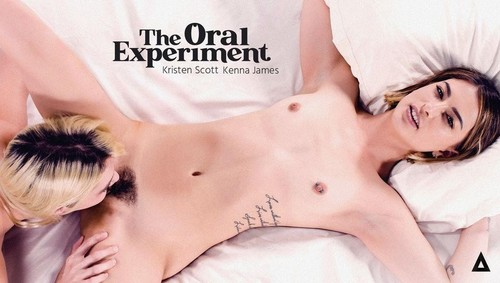The Oral Experiment - Kenna James And Kristen Scott [FullHD]
