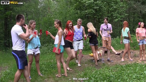 Filthy College Sluts Turn An Outdoor Party Into Wild Fuck Fest Part 1 [FullHD]