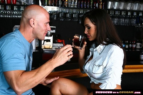 Lisa Ann Takes It At The Bar  Remastered [SD]