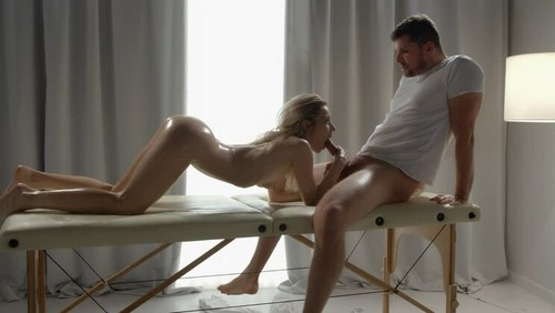 Relaxing Massage And Sex For Hot Blonde [HD]