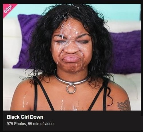 Black Girl Down - Ghetto Gaggers [FullHD/1080p]