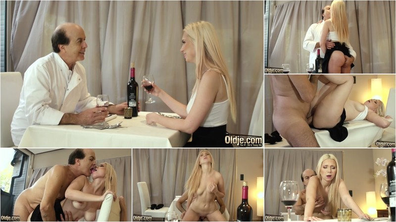Roxy Risingstar, Marcello - The Horny Waitress 739 [FullHD 1080P]