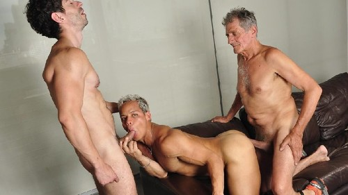 Older4Me - New Daddy On The Block: Chaco, Gerardo Mass & Victorino Bareback