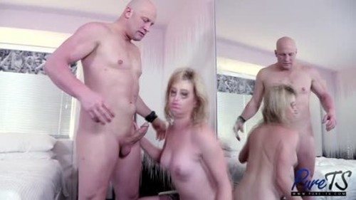 Nikki Vicious - The Blonde Trans Goddess Returns - Shemale, Ladyboy Porn Video