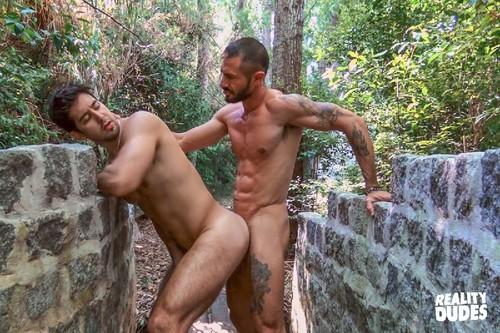 RealityDudes - Dudes In Public 56: Forest Path: Alex, Skorpio Bareback