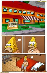 Vercomicsporno - Simpsons - Grandpa and Me Help