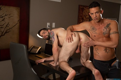 NextDoorOriginals - Eager Interviewee: Julian Brady, Nic Sahara Bareback