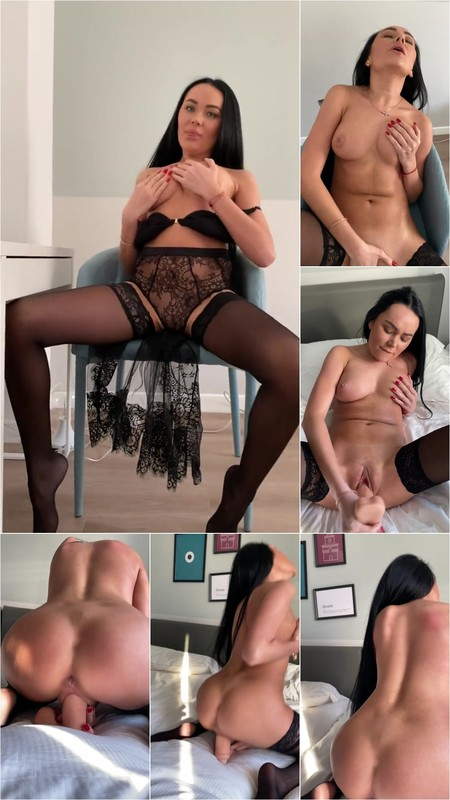 KatyBugatti - Prostitute with Artemis Fucks herself with a Vibrator [FullHD 1080P]