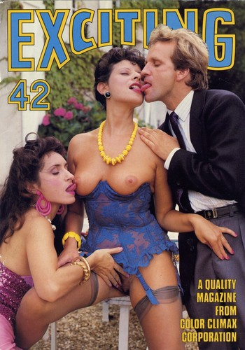 Exciting 6 Vintage Porn Magazines Cover