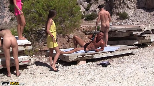Real Sex Party On The Sunny Beach, Part 2 [FullHD]