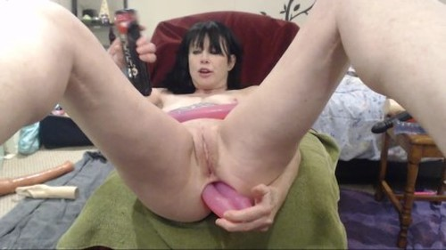 Horny mature 5 dildos anal and prolapse - New Extreme Fisting, Big Dildo