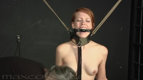 Pepper Kester gets the Full BDSM Dungeon Treatment from MaX CoXXX Bitch