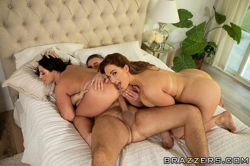 Sneaky Shower Threesome [HD]