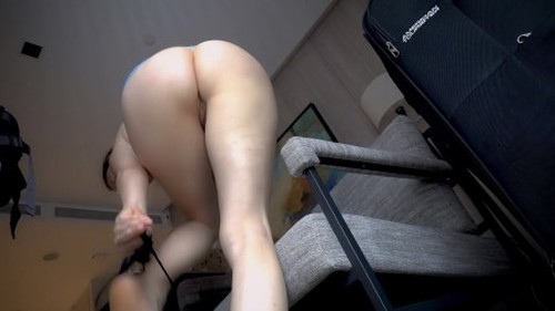 LittleMissKinky - Naughty secretary gets a visit - Solo Scat, Defecation, Shiting Gir