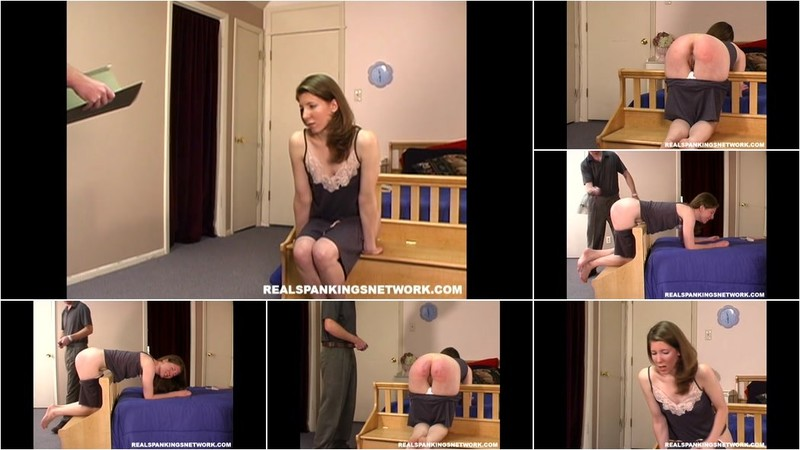 realspankingsins - Kathy's Maintenence Spanking (part 2) [HD 720p]