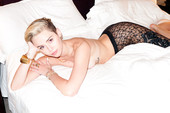 Miley Cyrus Poses Nearly Nude in Terry Richardson Shoot