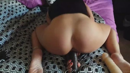 Watching Her Masturbate And Slamming Her In A Doggy [HD]