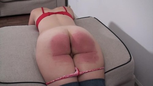 Beaten at Home - Strictly Spanking, BDSM, Pain Video