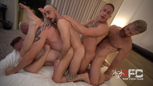 RawFuckClub - Choo-Choo Motherfucker: Brian Bonds, Mason Lear, Ryan Carter, Digger, Cain Marko Ba...