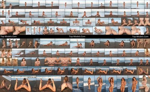 [Met-Art] Sybil A - By The Beach