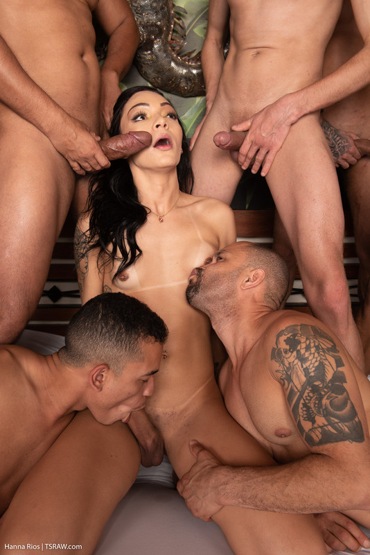 Hanna Rios 13 Man Creampie & Swallowing Gangbang (7 May 2020)