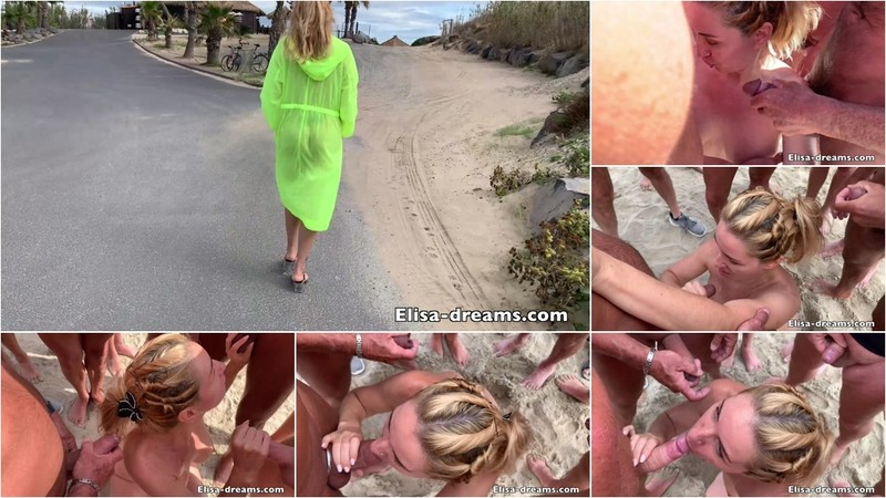 Sex Challenge 2019 - Blowjobs and Cumshots to the beach NEW!!! 8-05-2020 [FullHD 1080P]