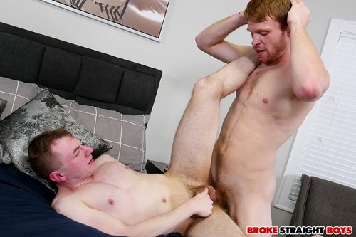 BrokeStraightBoys - Calhoun Sawyer Pounding On Blake Ellis Tight Asshole Bareback