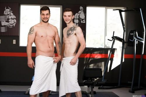 NextDoorRaw - Gym Rats: Scott Finn, Princeton Price Bareback