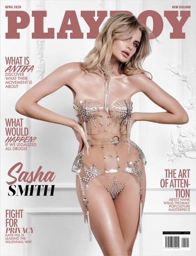 Playboy New Zealand April 2020 +February 2020 Cover