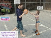DadDaughterDiaries - Basketball Court