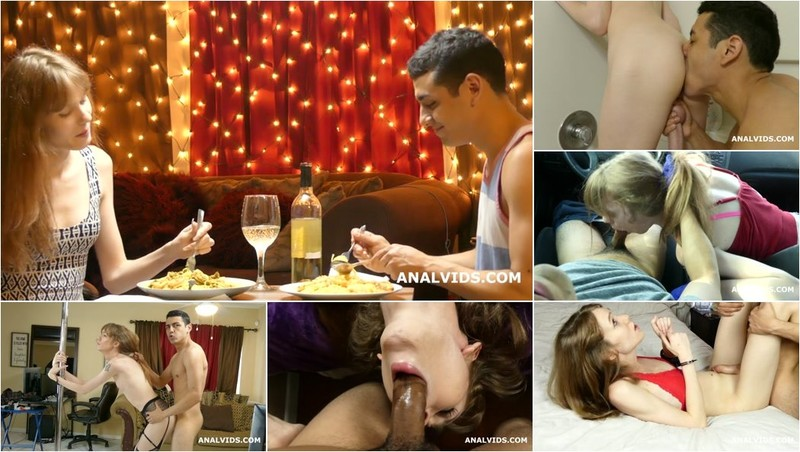 Crystal Thayer - Trans Crystal Thayer, 7 Days Quarantine Documentary With Balls Deep Anal, Pissing & Creampie [SD 480p]