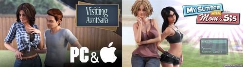 Visiting Aunt Sara V1 1 My Summer With Mom Amp Sis V0 94