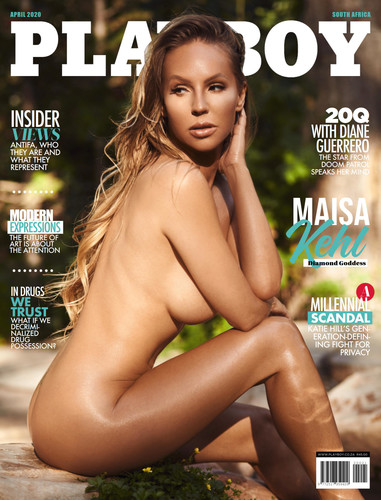 Playboy South Africa 2020 April Cover