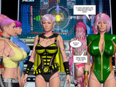 MetrobayComix - Nano Crisis - Matriarch's Uprising 9