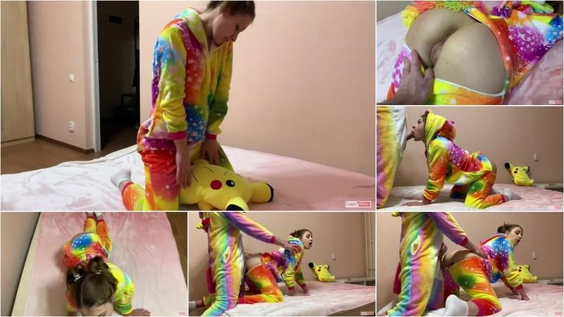Candy Kitty - Happy Unicorn Girl wish for Fuck [FullHD 341 MB]