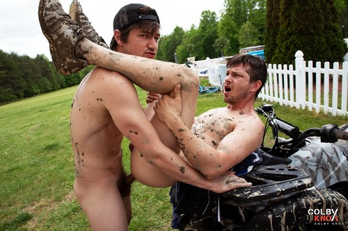 ColbyKnox - Muddy Boys and Their Toys Bareback