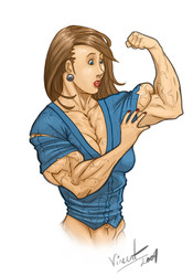 FemaleMuscleArt - SiteRip