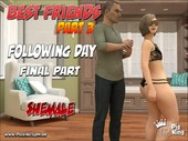 PigKing - Best Friends 3 - Following day