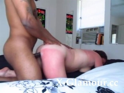 Amateurs - Horny Black Guy Giving It To A Wild White Milf [SD/480p]