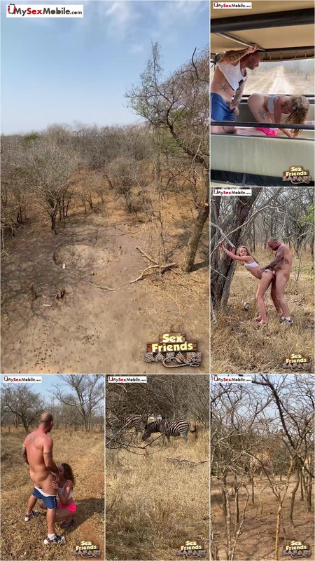 Angel Emily - INCREDIBLE EXHIB' IN FRONT OF ANIMALS! [FullHD 1080P]