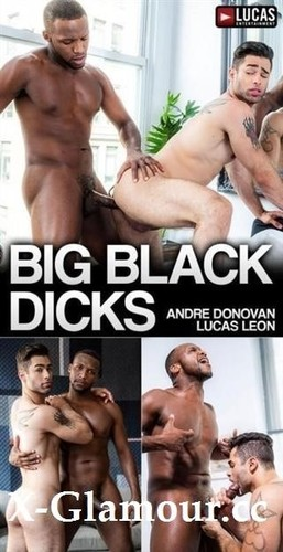 Amateurs - Lvp300-02 Big Black Dicks, Scene 02 Lucas Leon Rides Andre Donovans Raw Black Cock [HD/720p]